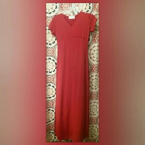 Red Small Younique Maxi Dress